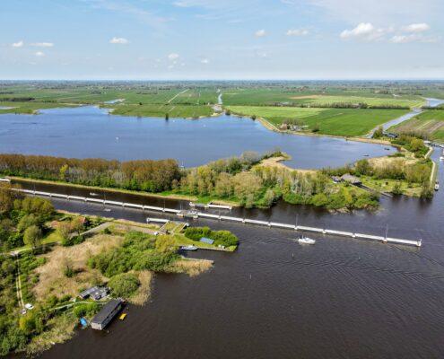 Dronevideo in Friesland Terherne